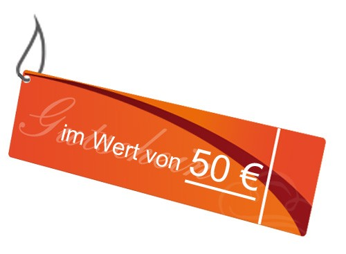 Gutschein: 50 EURO