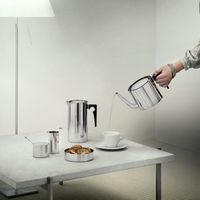 stelton Arne Jacobsen AJ Sahnekännchen 0,15 l Edelstahl CYLINDA-LINE