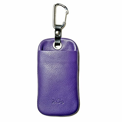 Ackermann Leder iPhone/ iPod Tasche in Lila PAGO