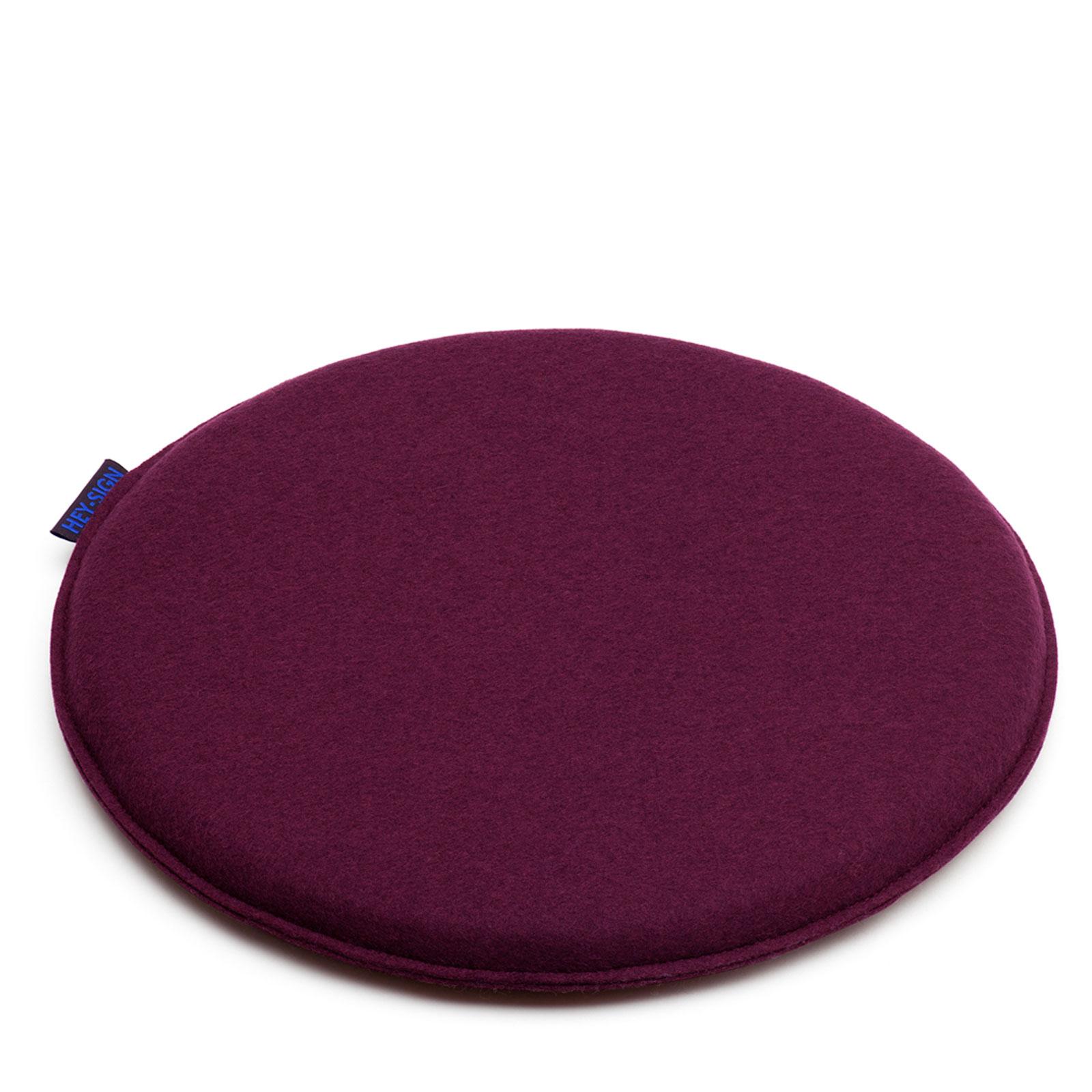 Hey Sign Filz Sitzkissen FRISBEE rund Ø 40 cm 4-teilig in vielen Farben