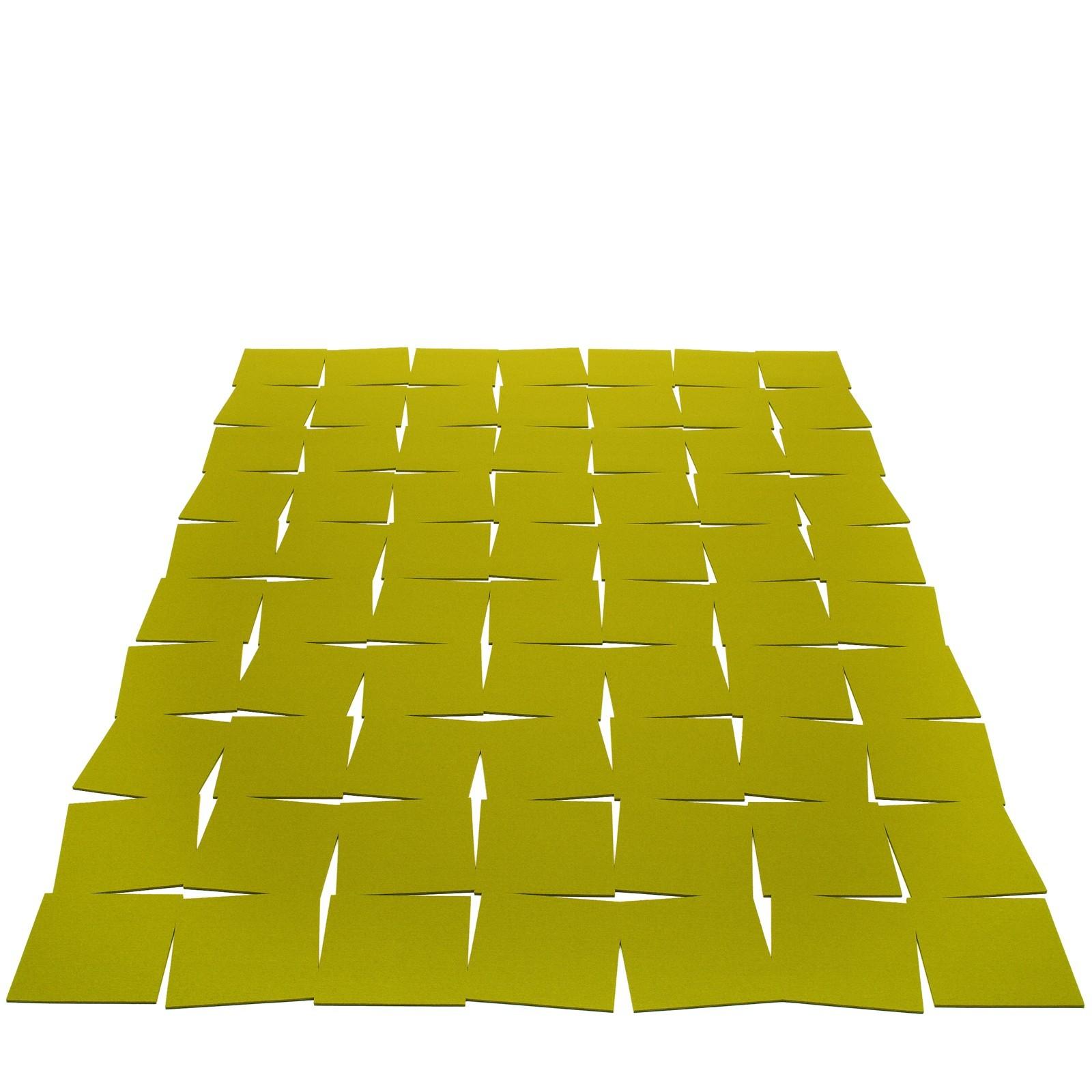 Hey SIgn Teppich TILES rechteckig mit Schlitzmuster viele Farben + Größen