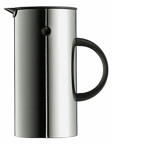 stelton EM Kaffeezubereiter Pressfilterkanne 1 l EDELSTAHL
