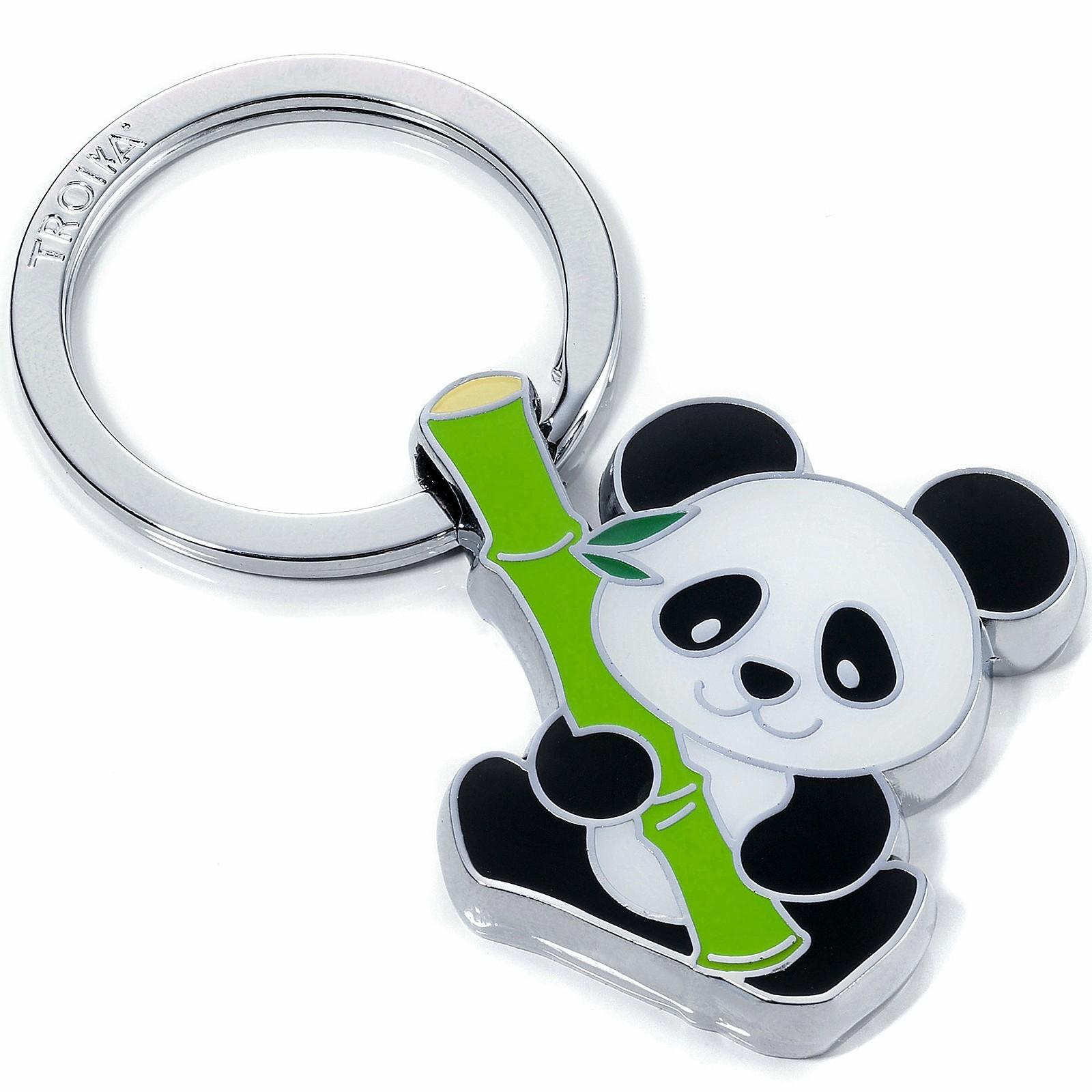 Schlüsselanhänger Panda Troika BAMBOO PANDA