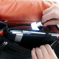 TROIKA Taschenlicht Handtaschenanhänger POCKET LAMP mit LED Taschenlampe
