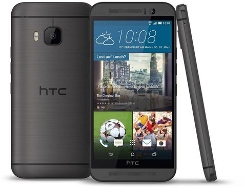 HTC ONE M9 dunkelgrau