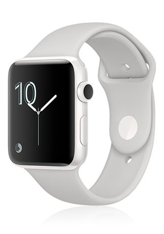 Apple Watch Series 2 Keramik White-Cloud Sportarmband, MNPF2ZD/A, 38mm