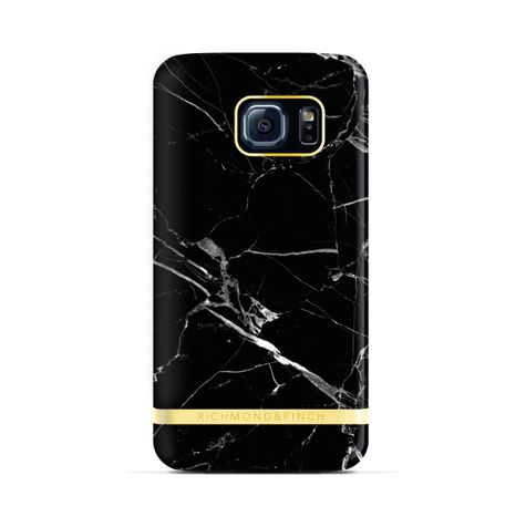 Richmond & Finch Marble for Galaxy S7 Edge Schwarz