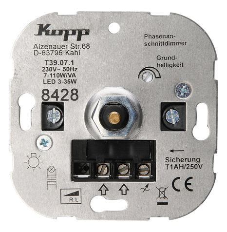 Kopp LED-Dimmer Sockel DW RL