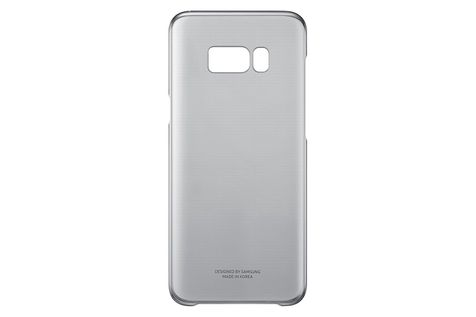 Samsung Clear Cover Black, EF-QG955CB, G955F Galaxy S8 Plus, Blister