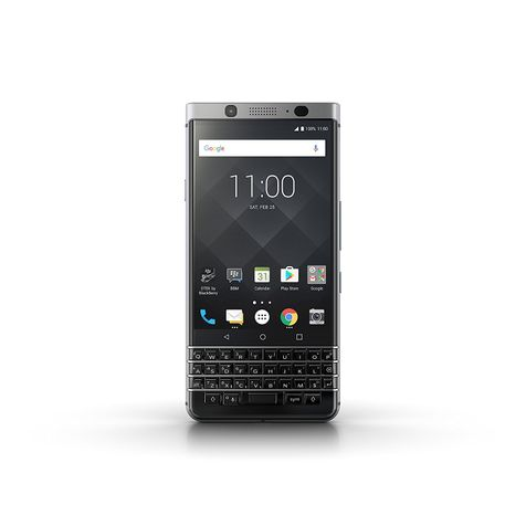BlackBerry KEYone silber