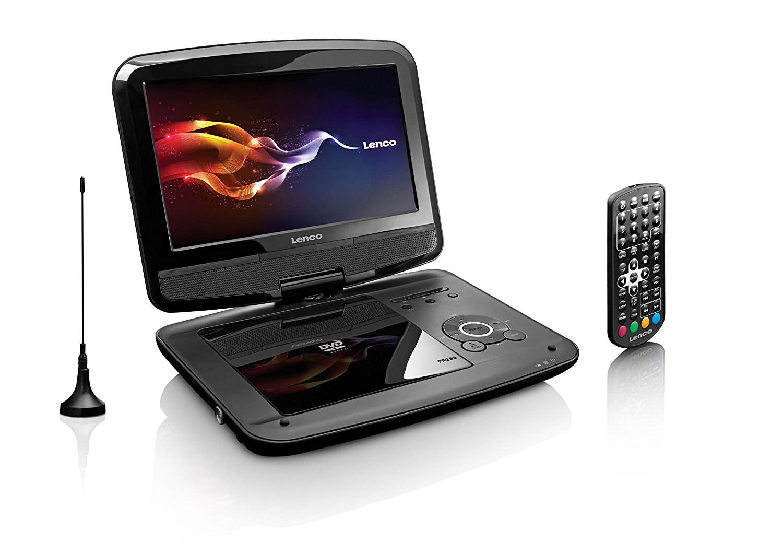 Lenco DVP-9413 Tragbarer 22,9 cm (9 Zoll) DVD-Player mit DVB-T2 Tuner - Preisvergleich