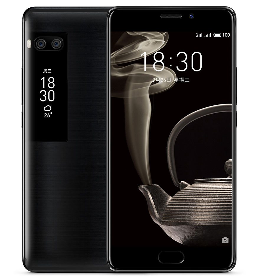 Meizu Pro 7 Dual-SIM Smartphone 64GB Schwarz - Preisvergleich