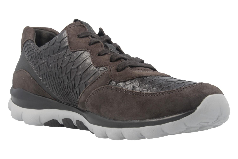 GABOR - Rolling Soft - Damen Halbschuhe - Grau Schuhe in Übergrößen – Bild 5