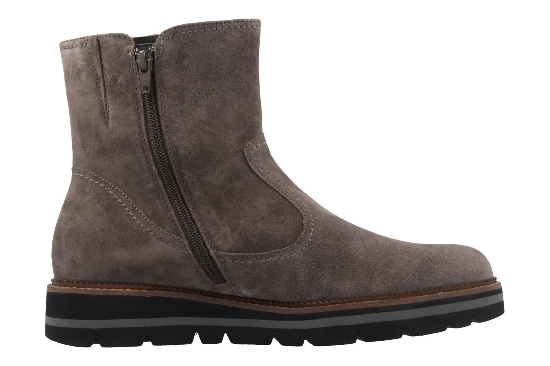 GABOR comfort - Damen Boots - Grau Schuhe in Übergrößen – Bild 4