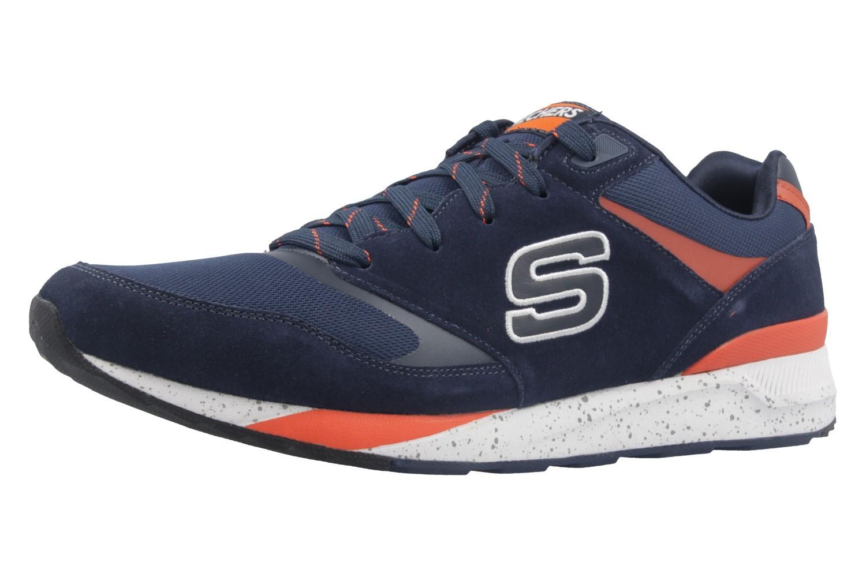 SKECHERS - OG 90 - Herren Sneaker - Blau Schuhe in Übergrößen – Bild 1