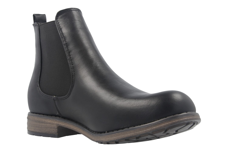 FITTERS FOOTWEAR - Katty - Damen Chelsea Boots - Schwarz Schuhe in Übergrößen – Bild 5