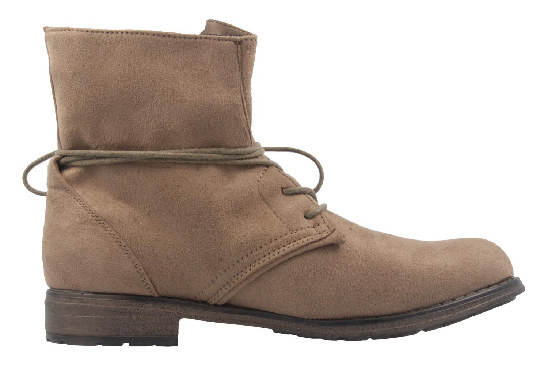 Fitters Footwear Boots in Übergrößen Beige NEW-19860 große Damenschuhe – Bild 4