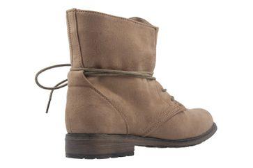 Fitters Footwear Boots in Übergrößen Beige NEW-19860 große Damenschuhe – Bild 3