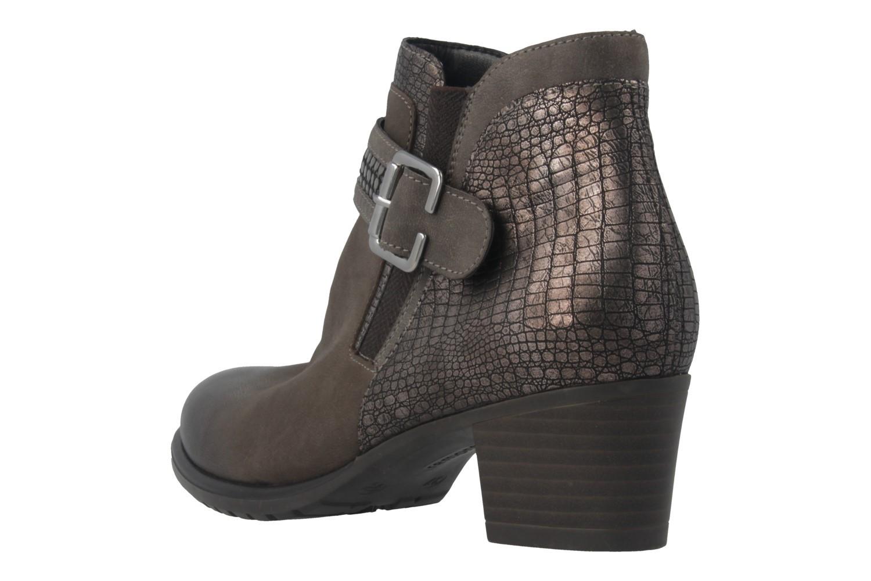 REMONTE - Damen Stiefeletten - Grau Schuhe in Übergrößen – Bild 2