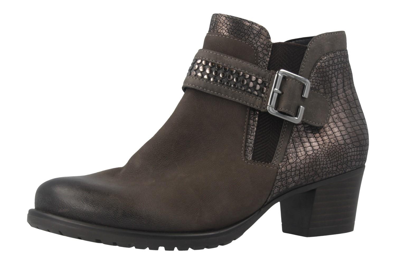 REMONTE - Damen Stiefeletten - Grau Schuhe in Übergrößen – Bild 1