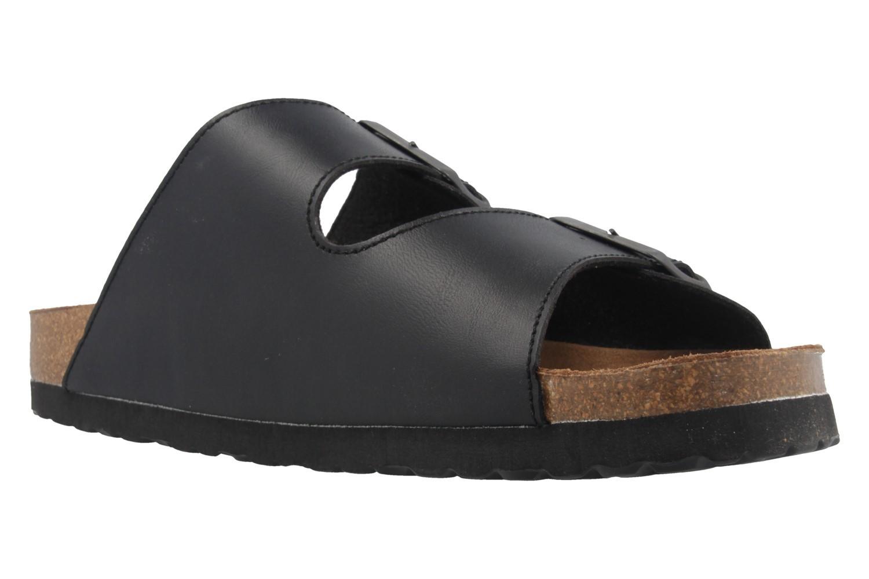 COSMOS comfort - Herren Pantoletten - Schwarz Schuhe in Übergrößen – Bild 5