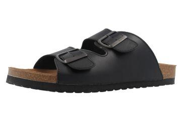 COSMOS comfort - Herren Pantoletten - Schwarz Schuhe in Übergrößen – Bild 1