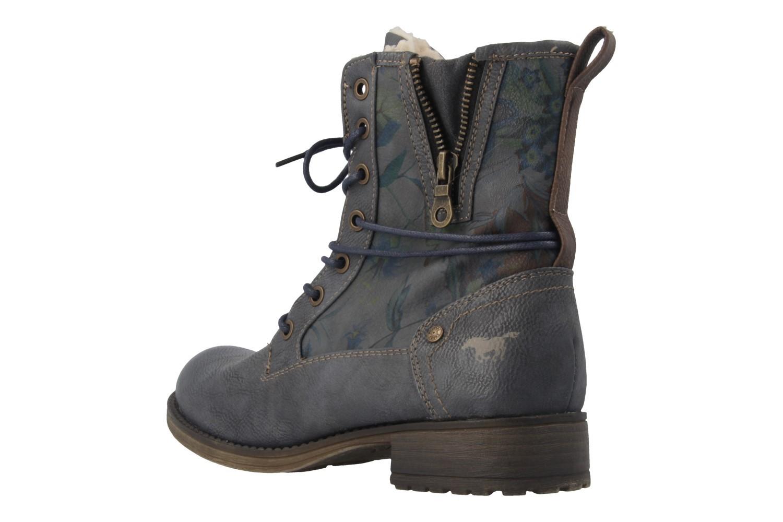 MUSTANG - Damen Boots - Blau/Grau Schuhe in Übergrößen – Bild 2