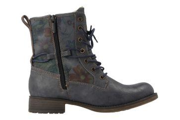 MUSTANG - Damen Boots - Blau/Grau Schuhe in Übergrößen – Bild 4