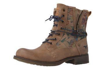 MUSTANG - Damen Boots - Braun Schuhe in Übergrößen