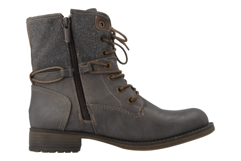 Mustang Shoes Boots in Übergrößen Grau 1139-628-20 große Damenschuhe – Bild 4