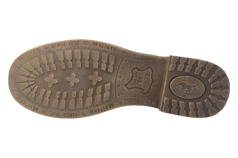 Mustang Shoes Boots in Übergrößen Grau 1139-628-20 große Damenschuhe – Bild 6