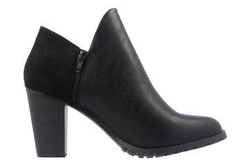 ANDRES MACHADO - Damen Stiefeletten - Schwarz Schuhe in Übergrößen – Bild 4