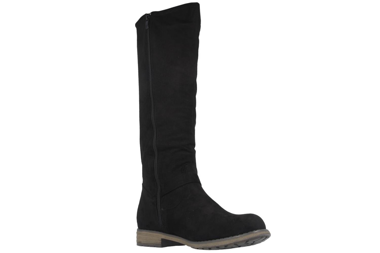 Fitters Footwear Stiefel in Übergrößen Schwarz 0 große Damenschuhe – Bild 5