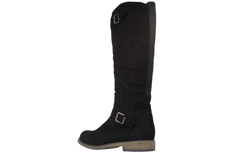 Fitters Footwear Stiefel in Übergrößen Schwarz 0 große Damenschuhe – Bild 2