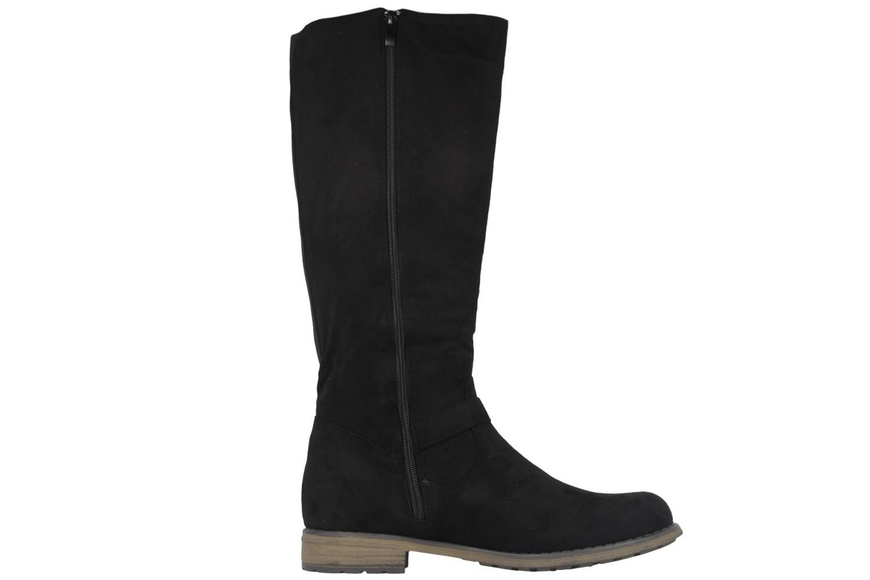 Fitters Footwear Stiefel in Übergrößen Schwarz 0 große Damenschuhe – Bild 4