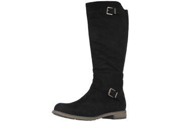 FITTERS FOOTWEAR - Vanessa - Damen Stiefel - Schwarz Schuhe in Übergrößen – Bild 1