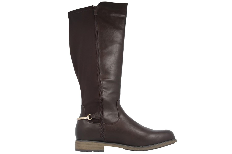 FITTERS FOOTWEAR - Maja - Damen Stiefel - Braun Schuhe in Übergrößen – Bild 4
