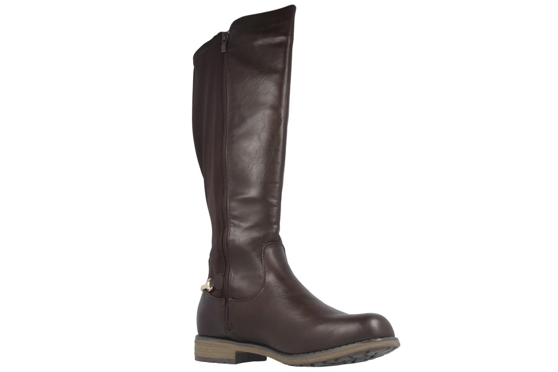FITTERS FOOTWEAR - Maja - Damen Stiefel - Braun Schuhe in Übergrößen – Bild 5