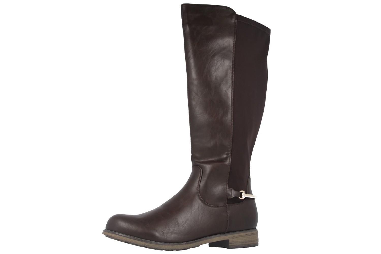 FITTERS FOOTWEAR - Maja - Damen Stiefel - Braun Schuhe in Übergrößen – Bild 1