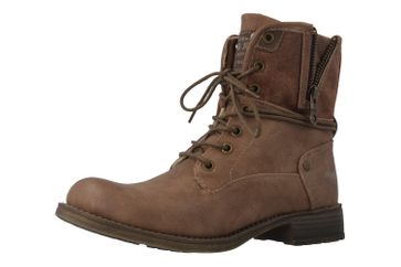 Mustang Shoes Boots in Übergrößen Braun 1139-628-33 große Damenschuhe – Bild 1