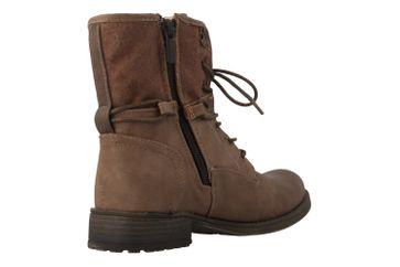 Mustang Shoes Boots in Übergrößen Braun 1139-628-33 große Damenschuhe – Bild 3