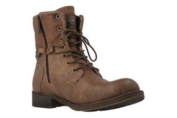 Mustang Shoes Boots in Übergrößen Braun 1139-628-33 große Damenschuhe – Bild 5