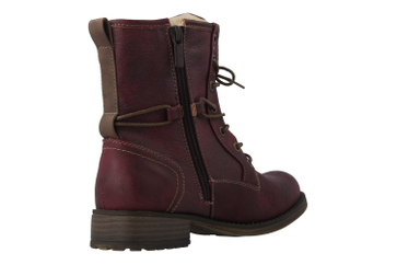 Mustang Shoes Fabianne 55 Boots in Übergrößen Bordeaux 1139-629-55 große Damenschuhe – Bild 3