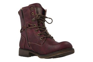 Mustang Shoes Fabianne 55 Boots in Übergrößen Bordeaux 1139-629-55 große Damenschuhe – Bild 5