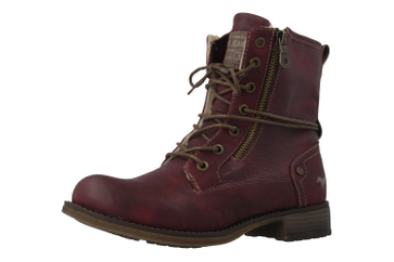 Mustang Shoes  Boots in Übergrößen Bordeaux 1139-629-55 große Damenschuhe – Bild 1