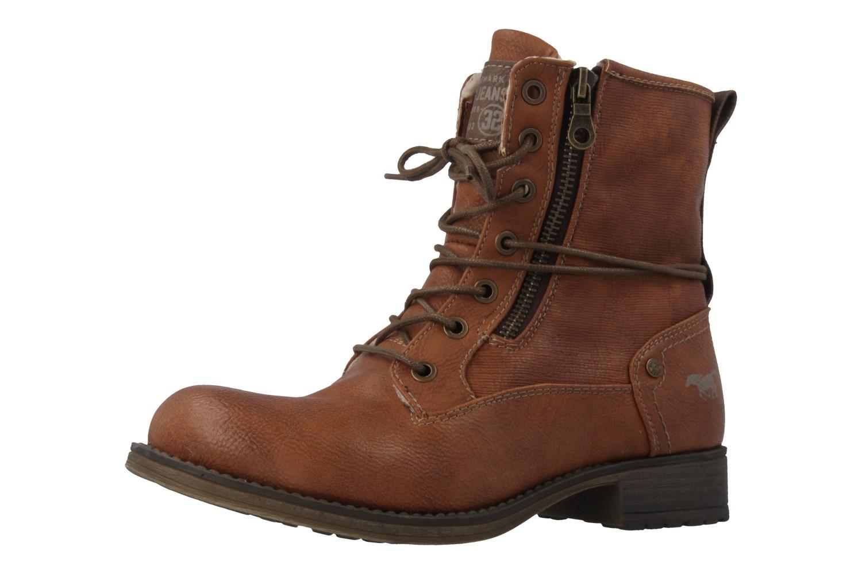Mustang Shoes  Boots in Übergrößen Kastanie 1139-629-301 große Damenschuhe – Bild 1