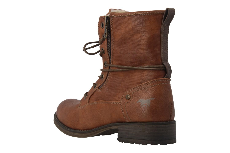 MUSTANG - Damen Boots - Braun Schuhe in Übergrößen – Bild 2