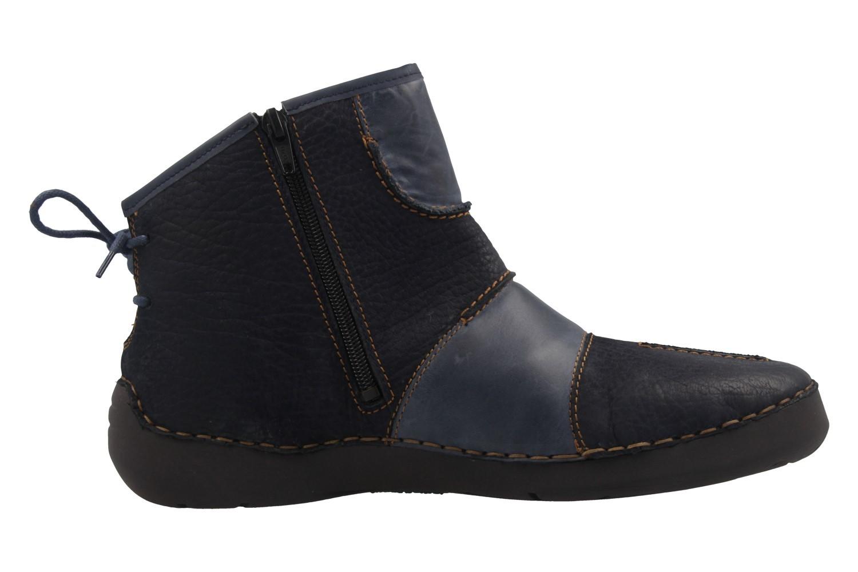 JOSEF SEIBEL - Damen Boots - Fergey 10 - Blau Schuhe in Übergrößen – Bild 4