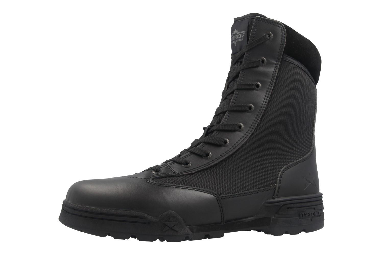 STARFORCE - Herren Stiefel - Combat Hi - Schwarz Schuhe in Übergrößen – Bild 1