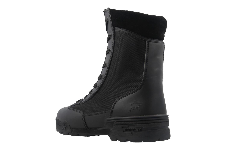 STARFORCE - Herren Stiefel - Combat Hi - Schwarz Schuhe in Übergrößen – Bild 2